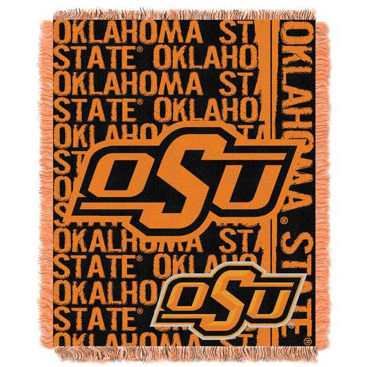 1COL019030013RET: NW COL Double Play Tapestry Throw, OKST